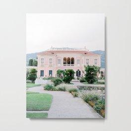 Villa Ephrussi de Rothschild in Nice, France | Fine Art Travel Photography Metal Print