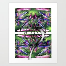 Tropical Chic Art Print