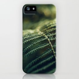 Green and Golden iPhone Case
