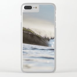 Objective Sequence Clear iPhone Case
