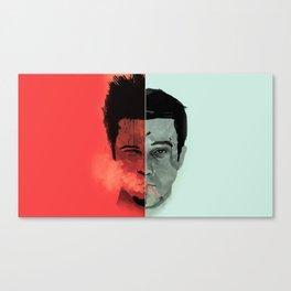 Tyler Durden V. the Narrator Canvas Print