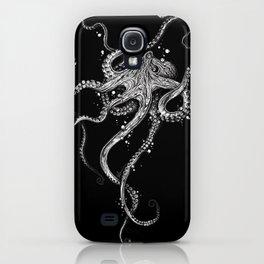Octopus (black) iPhone Case