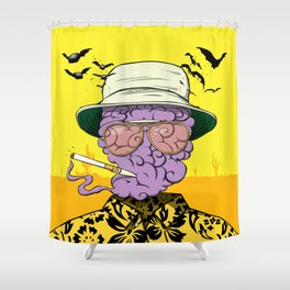 Dr. Gonzo Shower Curtain