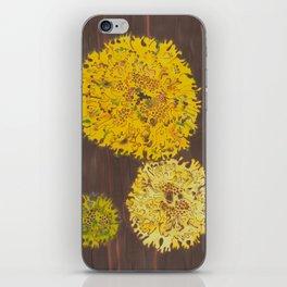 lichen in yew tree iPhone Skin