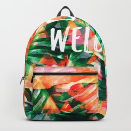 Welcome Backpack
