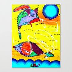 COMET & LILA Canvas Print