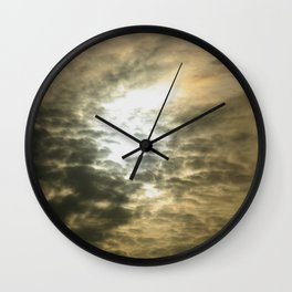 Stormy evening Wall Clock