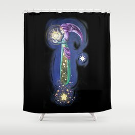 The Light Guardian Shower Curtain