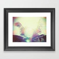 Good bye summer 1 Framed Art Print