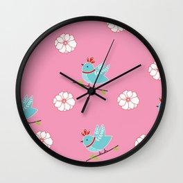 Pinkista  Wall Clock