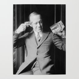Death or Alcohol - Ernie Hare - Prohibition Photo Poster