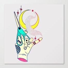 Scissor Canvas Print
