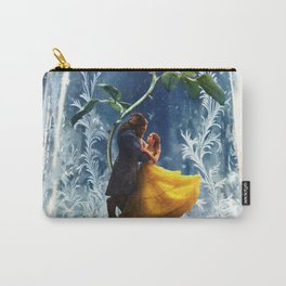 Beauty and the Beast-Rose Carry-All Pouch