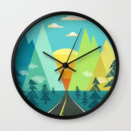 the Long Road Wall Clock