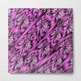 colored subtle pattern Metal Print
