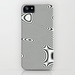 Bonitum B&W ripple iPhone Case