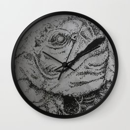 Abundance Frog Wall Clock
