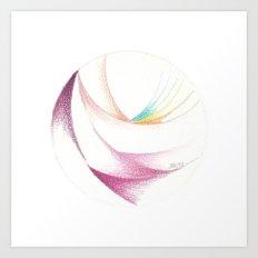 7 Colours Art Print