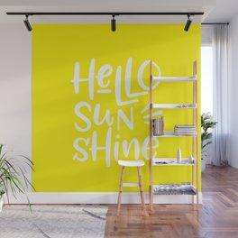 Hello Sunshine Wall Mural