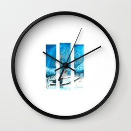 Hungry Audience Wall Clock