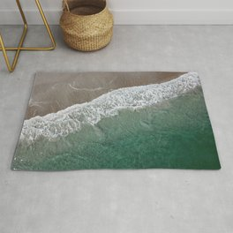 Wrightsville Beach Waves Rug