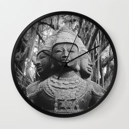 Shiva Statue - Kauai, Hawaii Wall Clock
