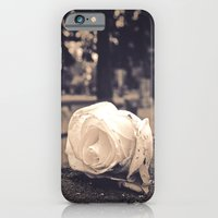 Graveyard rose iPhone 6s Slim Case