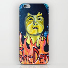 Roseanne Barr, She-Devil iPhone Skin