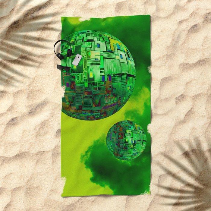 Nano-Universe  10-07-16 Beach Towel