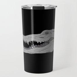 Icons of Africa - Nile crocodile Travel Mug