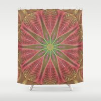 meditation Shower Curtains featuring Meditation by Deborah Benoit