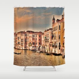 Grand Canal of Venice Shower Curtain