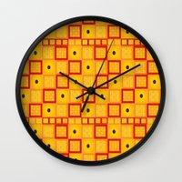 klimt Wall Clocks featuring Klimt by kociara