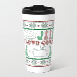 Cooking Christmas Travel Mug