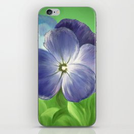 FORGET ME NOT iPhone Skin