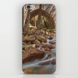 Hadlock Bridge Brook iPhone Skin