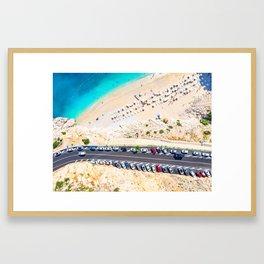 Kaputas Beach - Antalya Framed Art Print