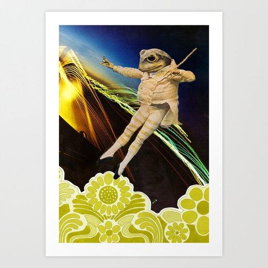 The Frog King Art Print