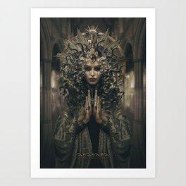 Asasara (portrait version) Art Print