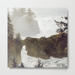 Natural Bridges in Oregon Metal Print