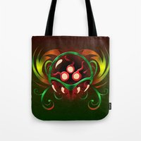 metroid Tote Bags featuring Metroid by likelikes