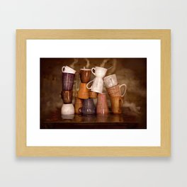Cafehouse (without windows) Framed Art Print
