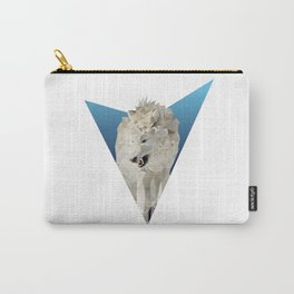 Low Poly Wolf Carry-All Pouch