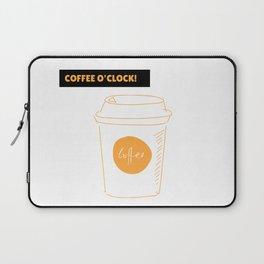 Coffee time   Hora del café Laptop Sleeve