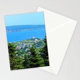 Bonaventure Island panoramic Stationery Cards