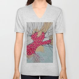 withered tree (ORIGINAL SOLD). Unisex V-Neck