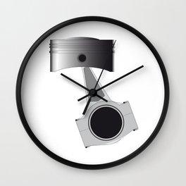 Isolated Auto Piston Wall Clock