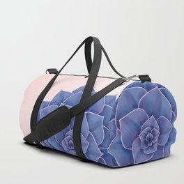 Big Echeveria Design Duffle Bag