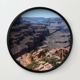 Grand Canyon View Wall Clock