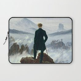 Wanderer above the Sea of Fog Painting by Caspar David Friedrich Laptop Sleeve